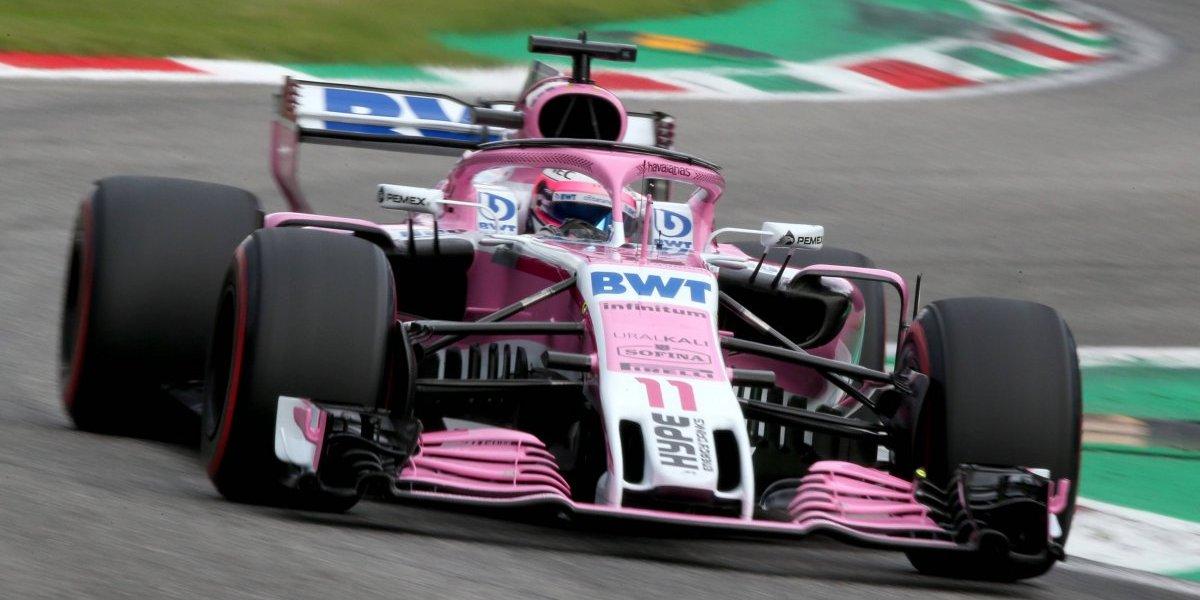 'Checo' Pérez terminó en octavo, Hamilton se llevó el GP de Italia