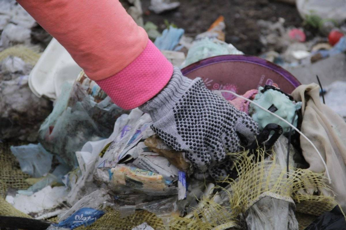 Al día se generan casi 13 mil toneladas de basura. Foto: Sedema