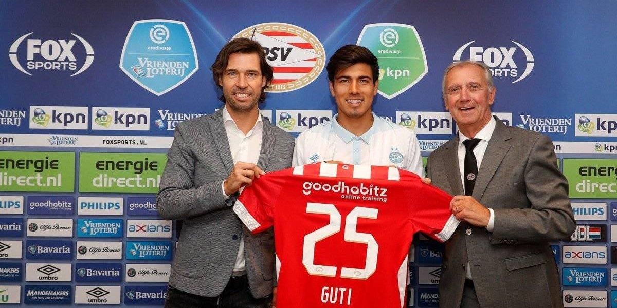 Erick Gutiérrez está ansioso por jugar en la Champions League