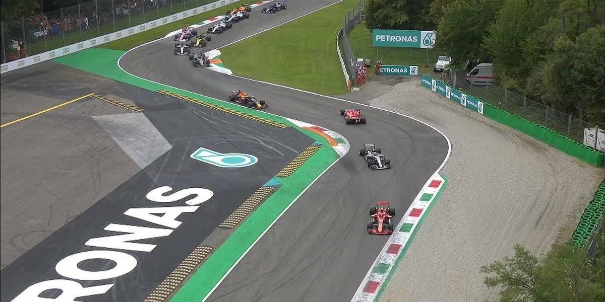VIDEO: Vettel y Hamilton protagonizan choque de monoplazas