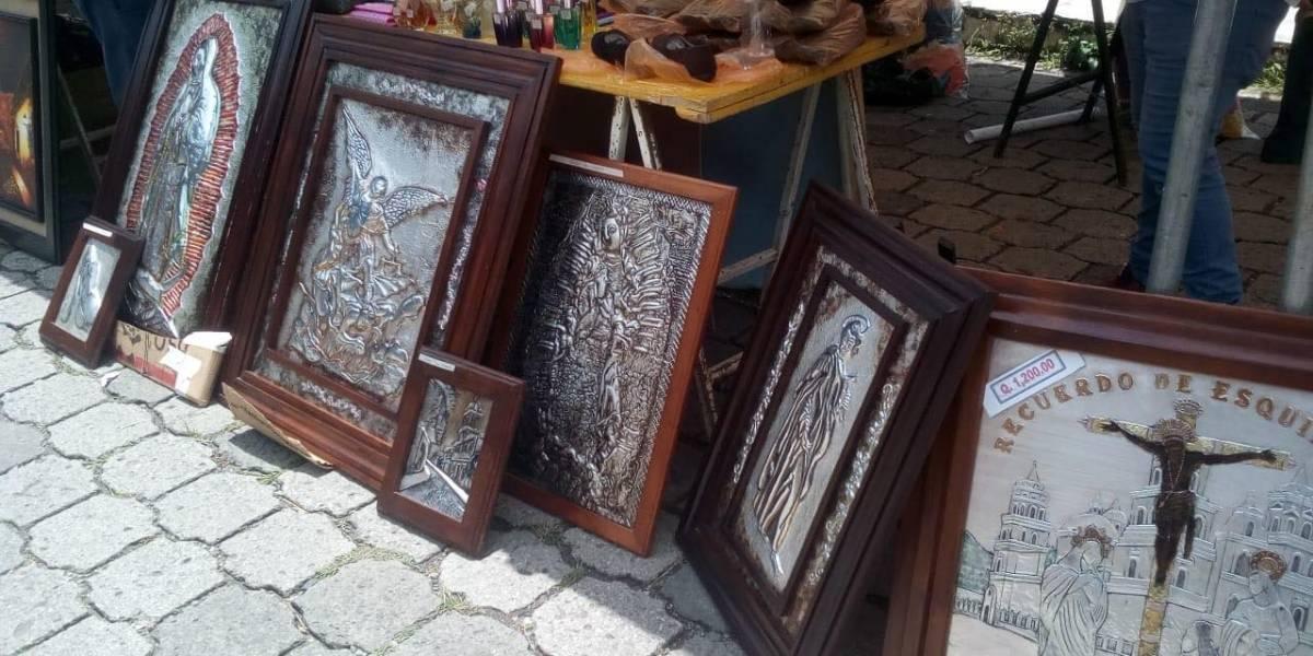 Ofrecen los productos de los privados de libertad en Pavón, Fraijanes