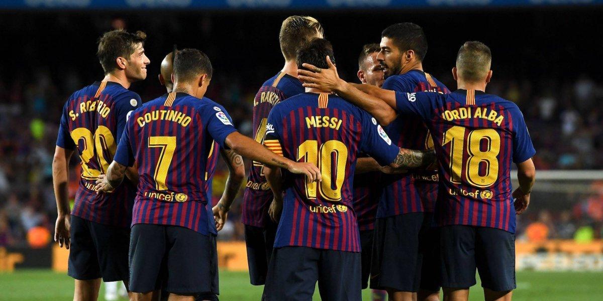 Barcelona humilla al Huesca en La Liga