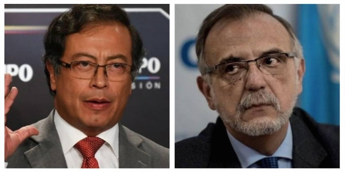 Excandidato presidencial de Colombia reconoce trabajo de Iván Velásquez