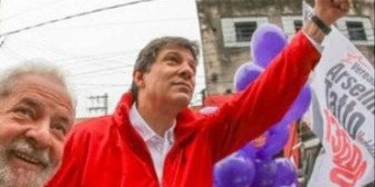 """Tribunal sacó a Lula da Silva de carrera y Haddad asoma ahora como su  """"delfín"""" a presidencia de Brasil"""