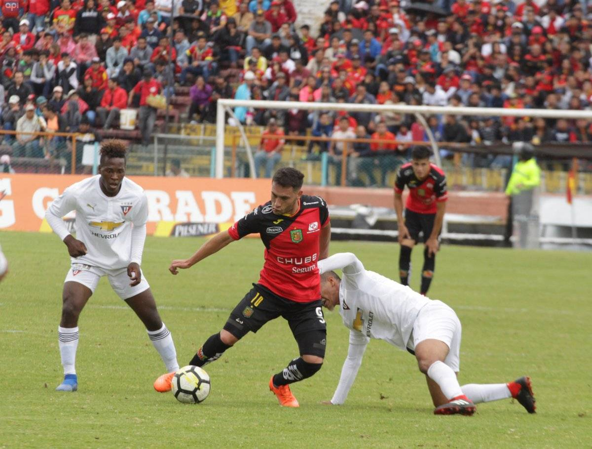 Deportivo Cuenca vs Liga de Quito: Se le escapó el triunfo a los albos en el último minuto API