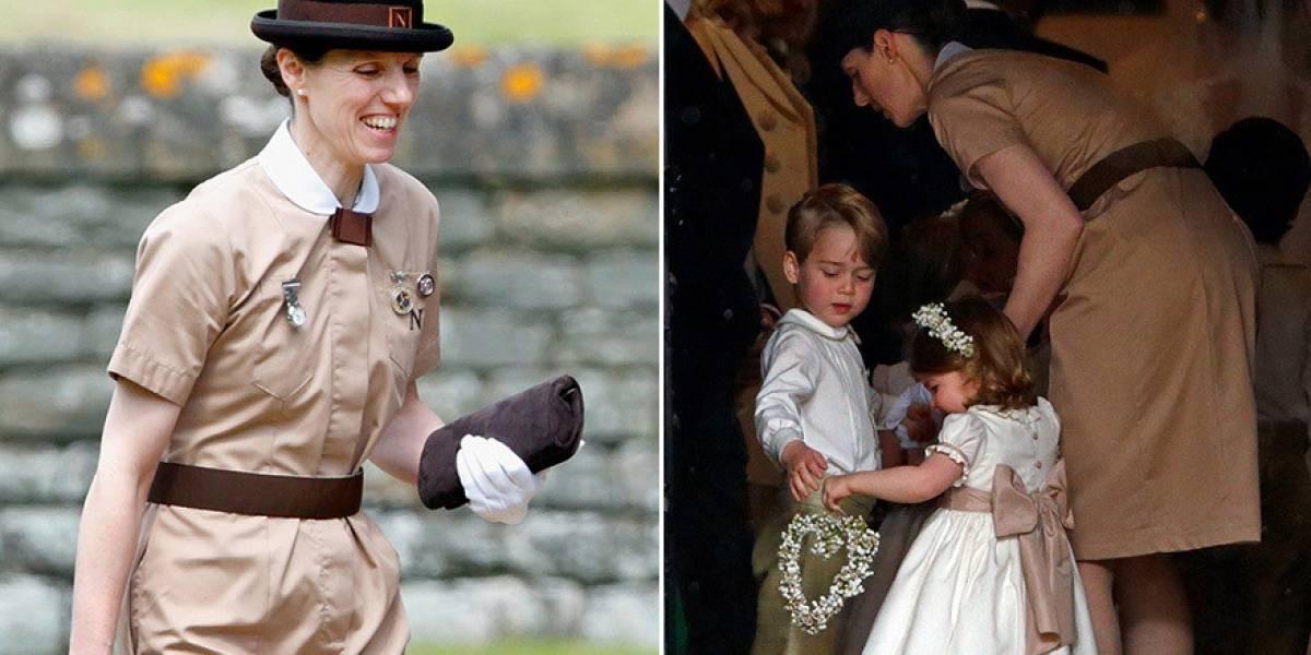 La tierna relación entre la niñera y los hijos de Kate Middleton y el príncipe Guillermo