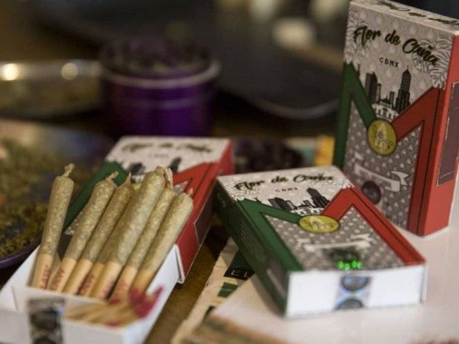 Algunos productos elaborados con marihuana. Cortesía.