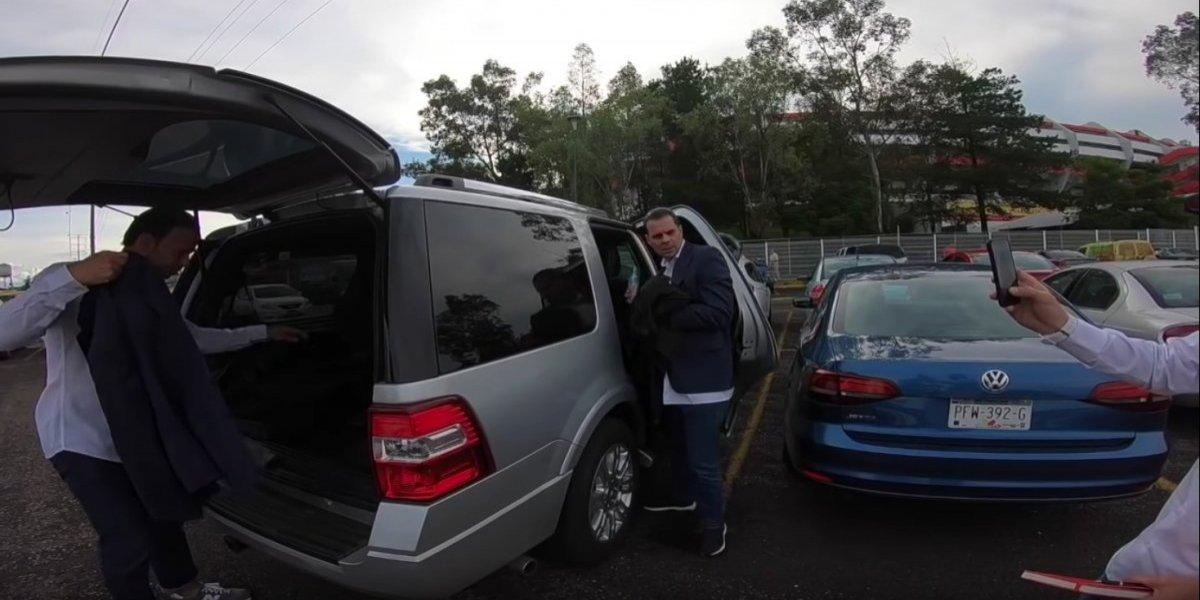 Christian Martinoli se molesta con Luis García y Zague