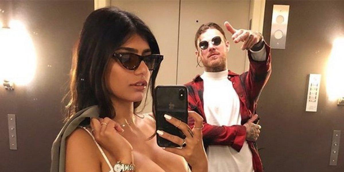 Mia Khalifa publica un momento íntimo y una broma pesada con su novio