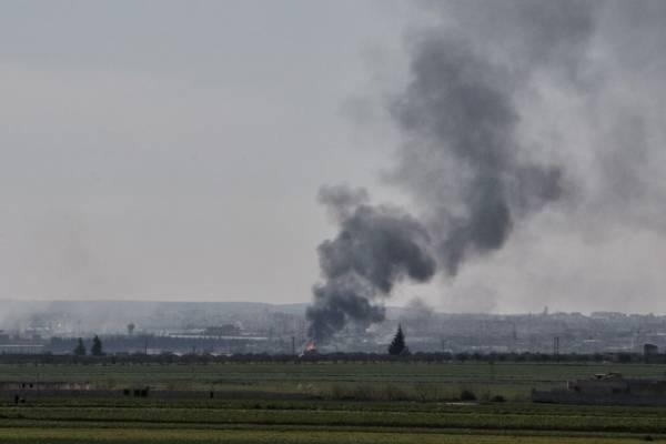 Bombardeos en Idlib, Siria
