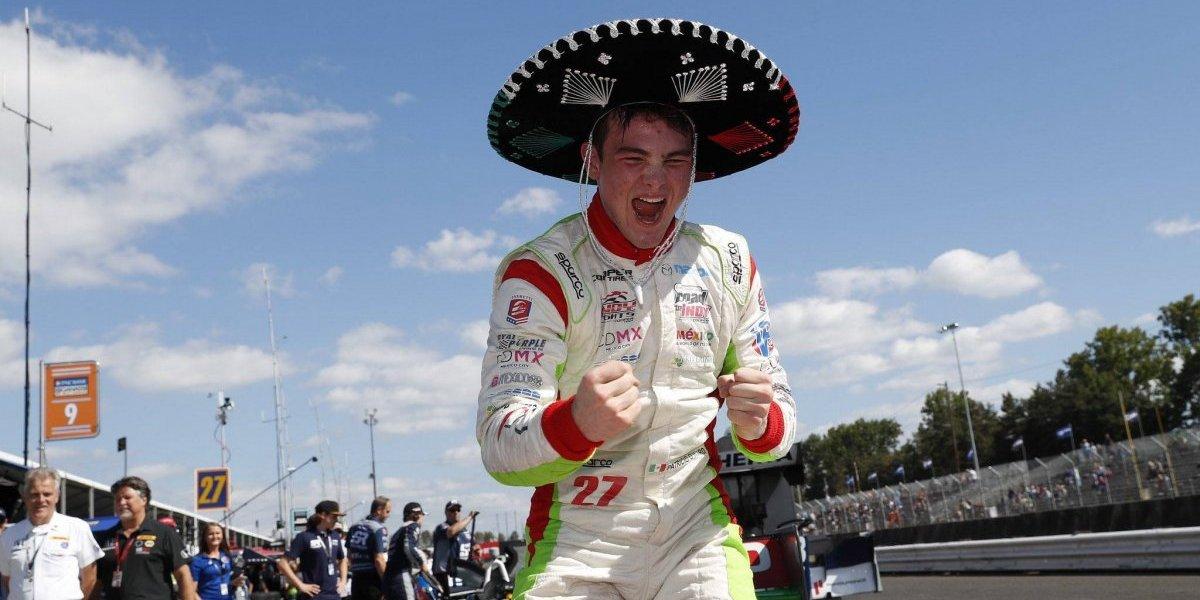 Piloto mexicano Patricio O'Ward se corona en el campeonato Indy Lights