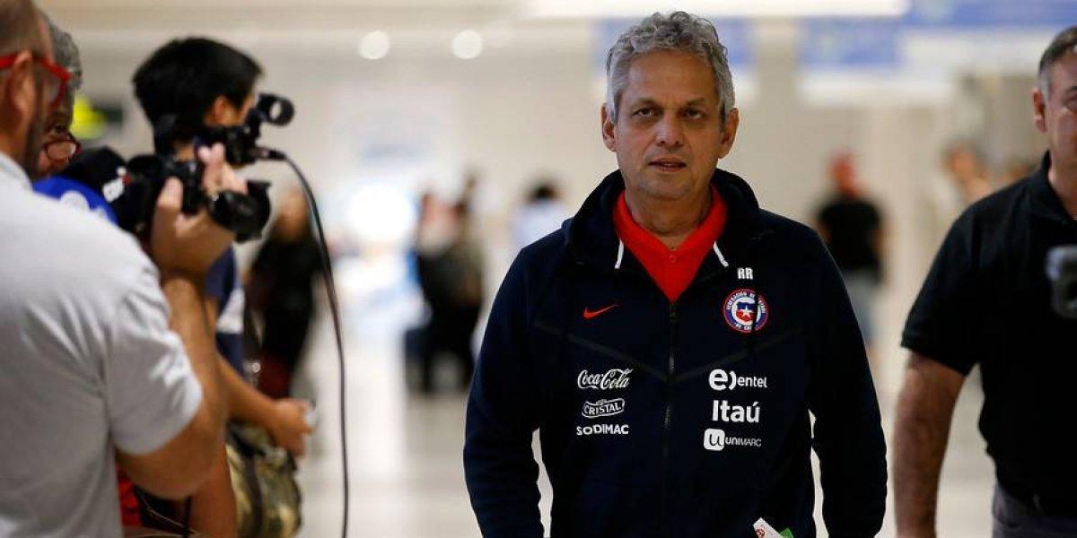 """La desazón de Reinaldo Rueda tras la lesión de Fabián Orellana: """"Es desafortunado porque queríamos que se integrara"""""""
