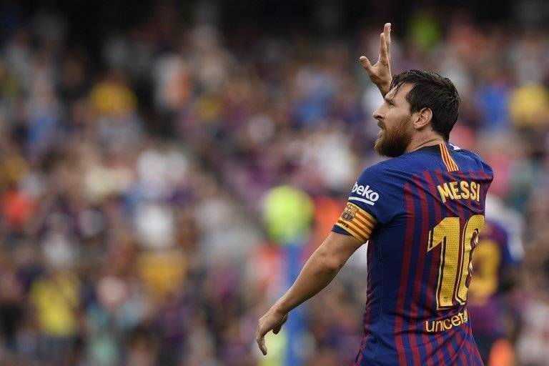 Gol de Lionel Messi contra el Huesca