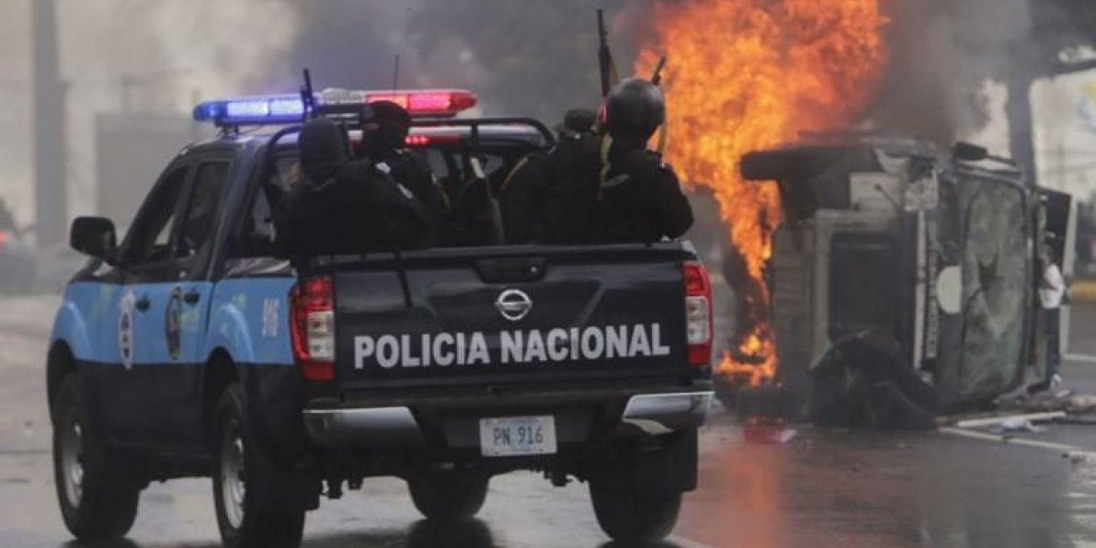 VIDEO. Capital nicaragüense otra vez estremecida por violencia en calles