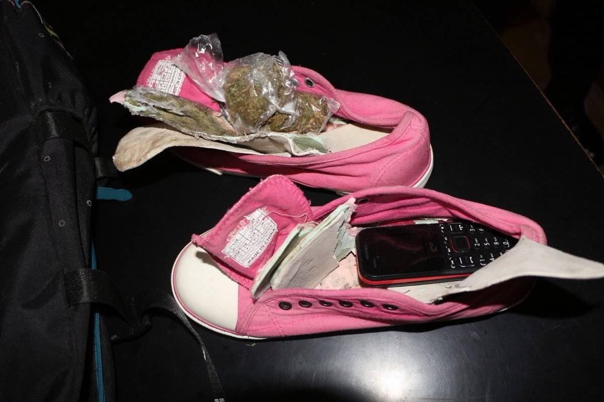 Droga en zapatos