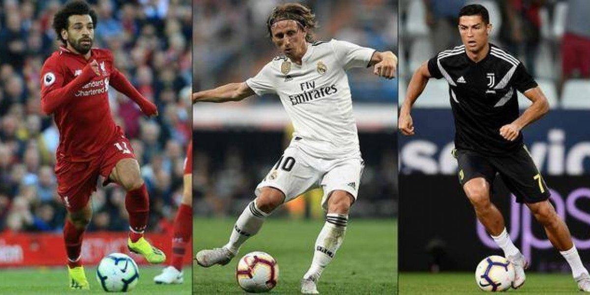 CR7, Salah y Modric, finalistas en el premio The Best