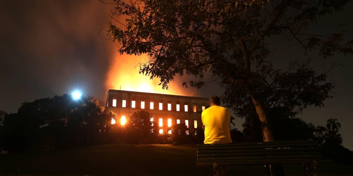 Polícia Federal vai conduzir investigações sobre incêndio no Museu Nacional