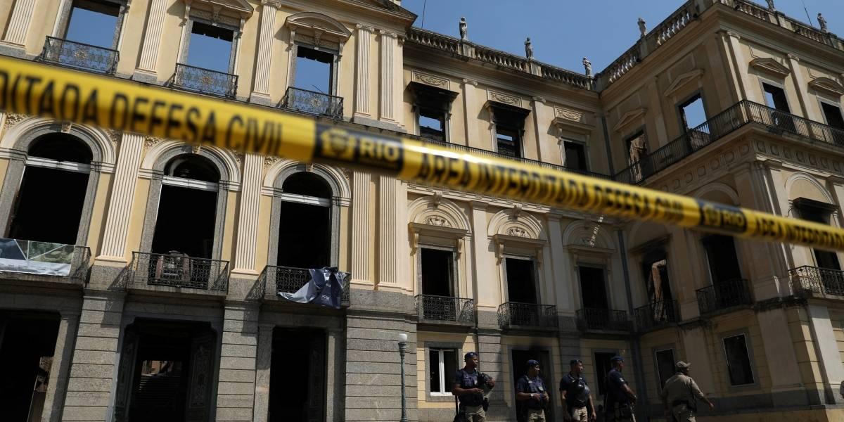 Imprensa internacional repercute incêndio no Museu Nacional no Rio