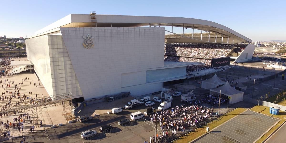 Polícia investiga roubo na Arena Corinthians após partida no aniversário do clube