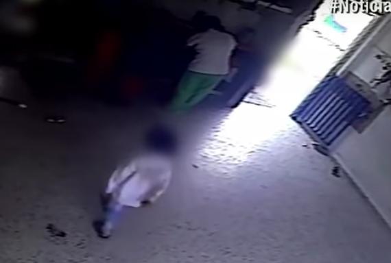 Video: niño de cuatro años sufrió una fractura y la mujer que lo cuidaba no lo atendió