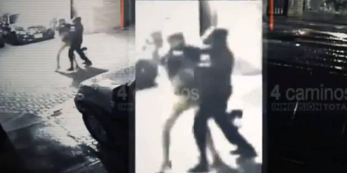 Así fue la última golpiza que recibió la mujer asesinada en el centro comercial Santafé