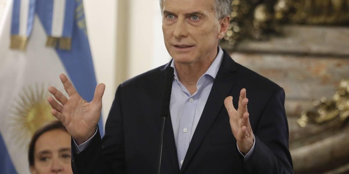 La dramática medida de  Macri para frenar la crisis en Argentina : borra la mitad de los ministerios