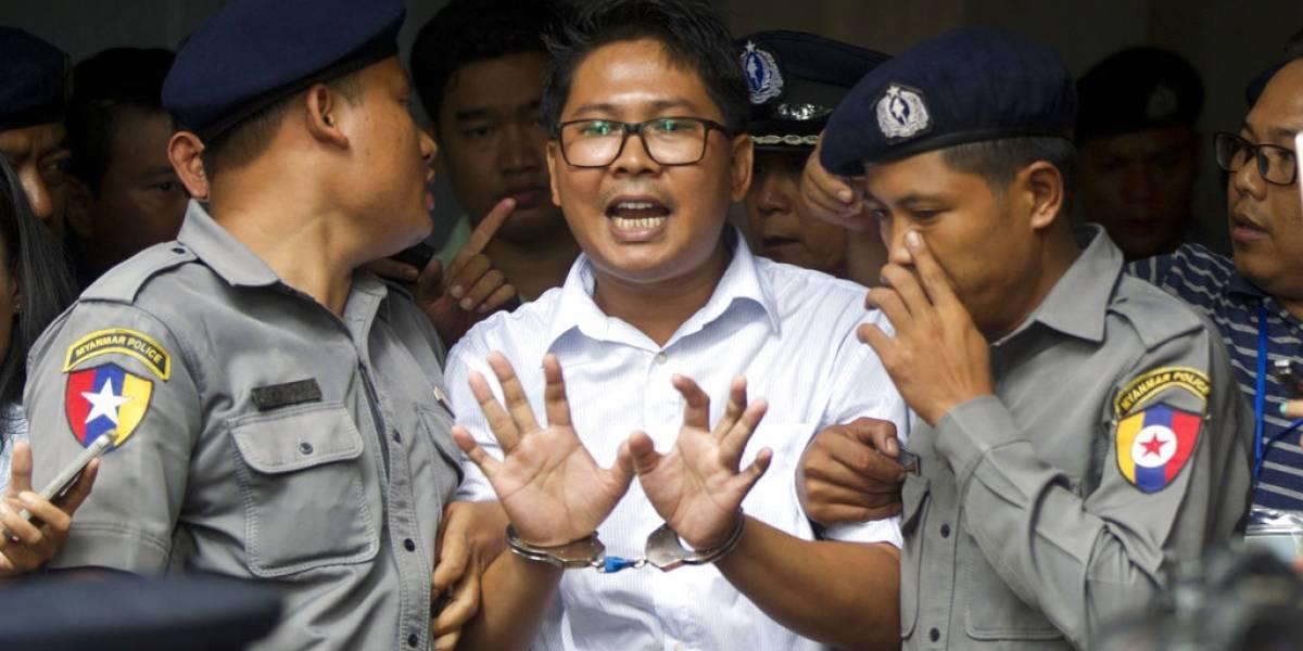 Reportaron una masacre de rohingyas en Myanmar:  ahora estos dos periodistas fueron condenados a 7 años de prisión