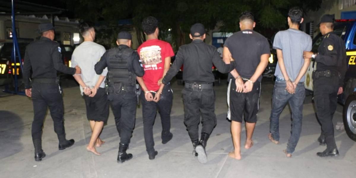 Capturan a presuntos integrantes de una banda de asaltantes