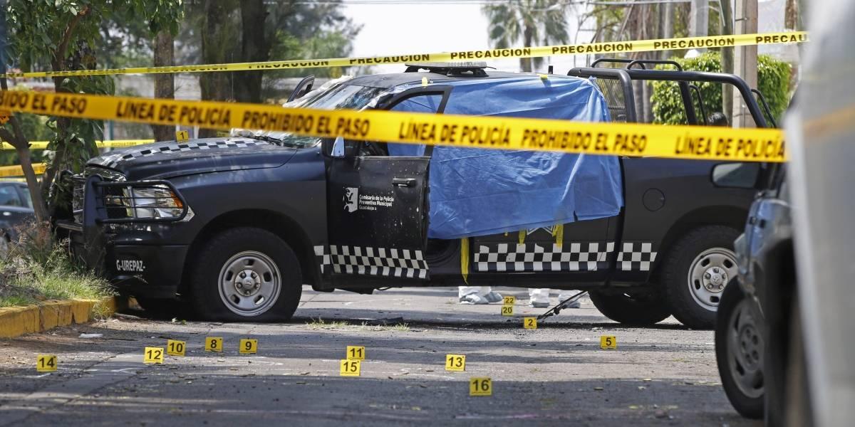 Condenan atentado contra los cuatro policías de Guadalajara