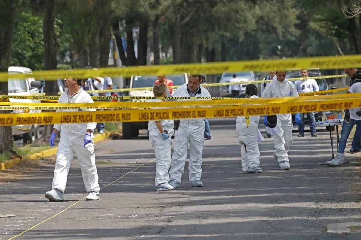 Asesinan a cuatro policías de Guadalajara en Tonalá
