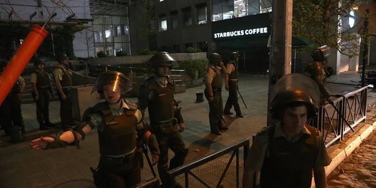 """Presidente del sindicato Starbucks: """"Si Carabineros quiere hacer un lavado de imagen le va a costar más que tomándose un café"""""""