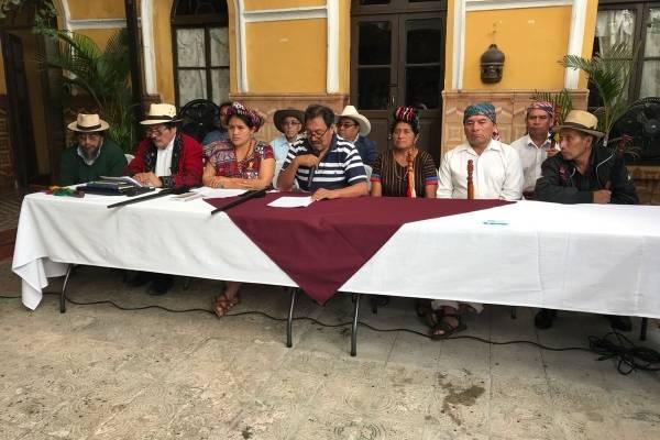 autoridades indígenas rechazan no renovación de mandato de CICIG