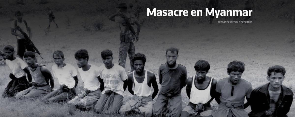 El 2 de septiembre, aldeanos budistas y soldados de Myanmar mataron a 10 hombres rohingya en el inquieto estado de Rakhine en Myanmar. Reuters descubrió la masacre y ha reconstruido cómo se desarrolló. Durante el informe de este artículo, dos periodistas