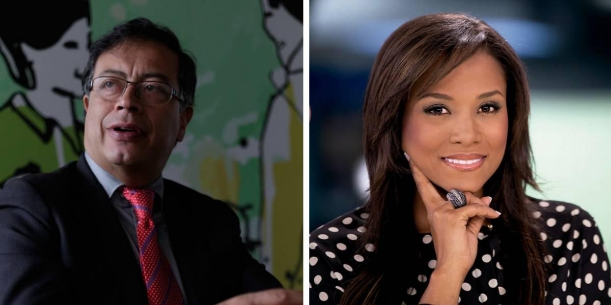 "Las duras críticas a Mábel Lara por ""querer censurar"" a Gustavo Petro"