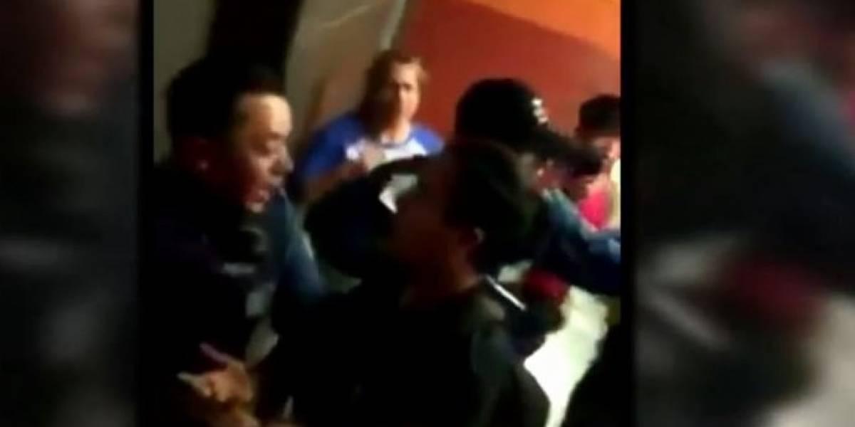Metro De Santiago rechazó que uno de sus vigilantes utilizara arma de fuego para repeler a un grupo de usuarios