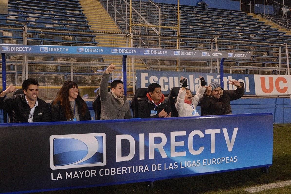 La Tercera Banca, una de las innovaciones comerciales de Cruzados en San Carlos de Apoquindo en sociedad con DirecTV / Foto: cruzados.cl