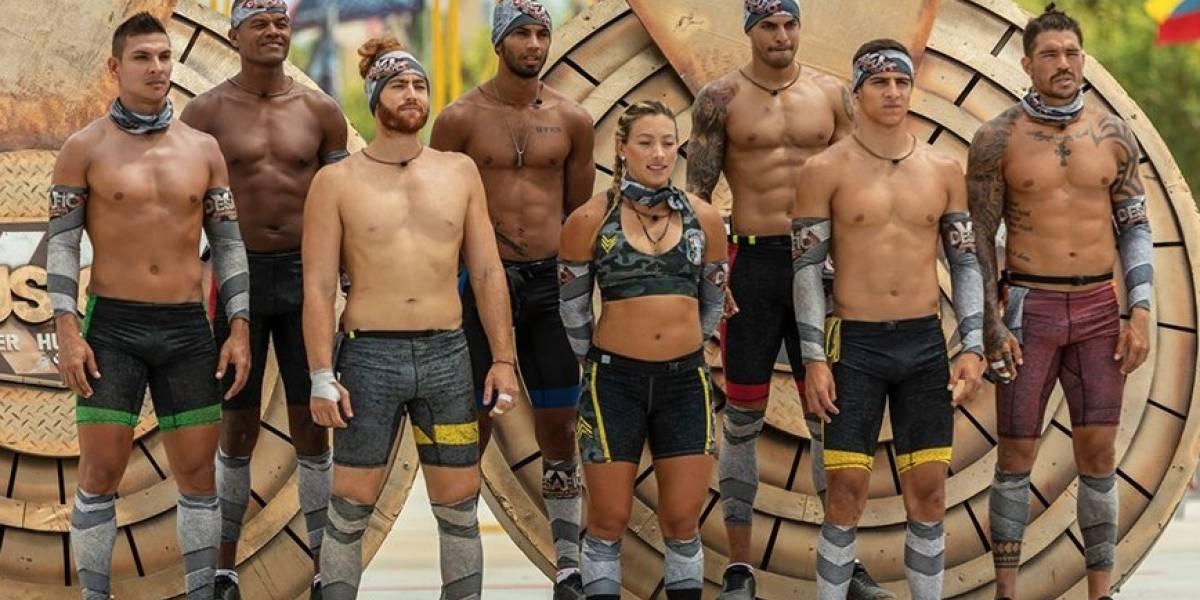 ¡Participantes casi terminan desnudos en prueba del 'Desafío Súper Humanos'!
