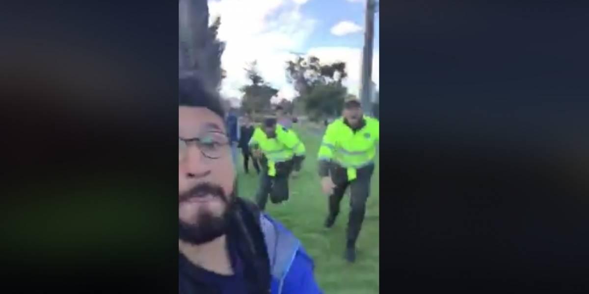 La verdad tras el video viral de joven insultando a policías