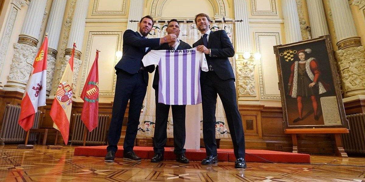 Ronaldo se hace accionista mayoritario del Valladolid
