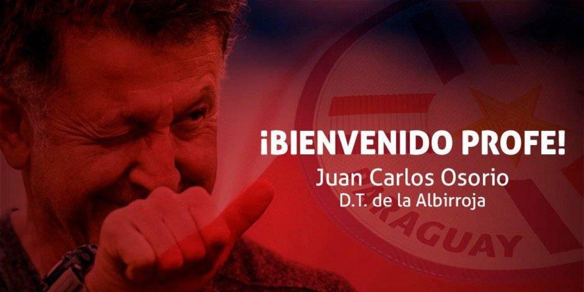 Juan Carlos Osorio dirigirá a la Selección de Paraguay