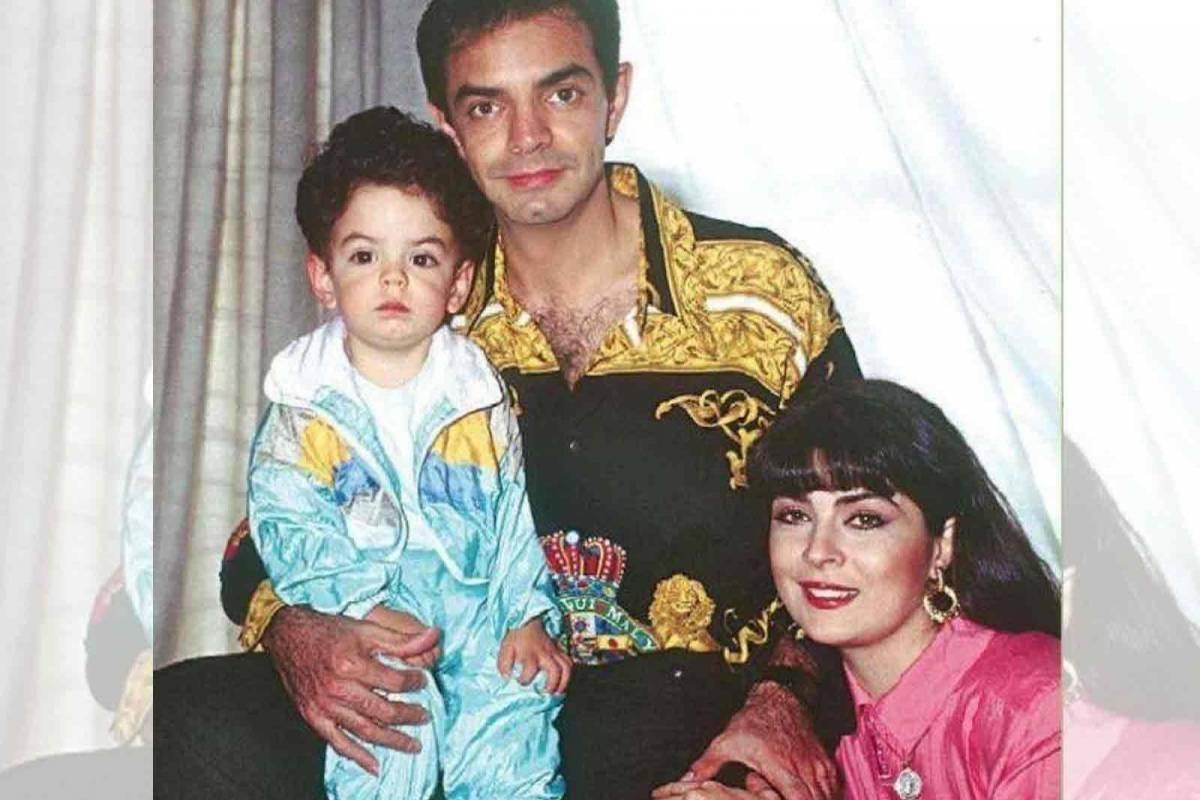 Eugenio Derbez y su hijo