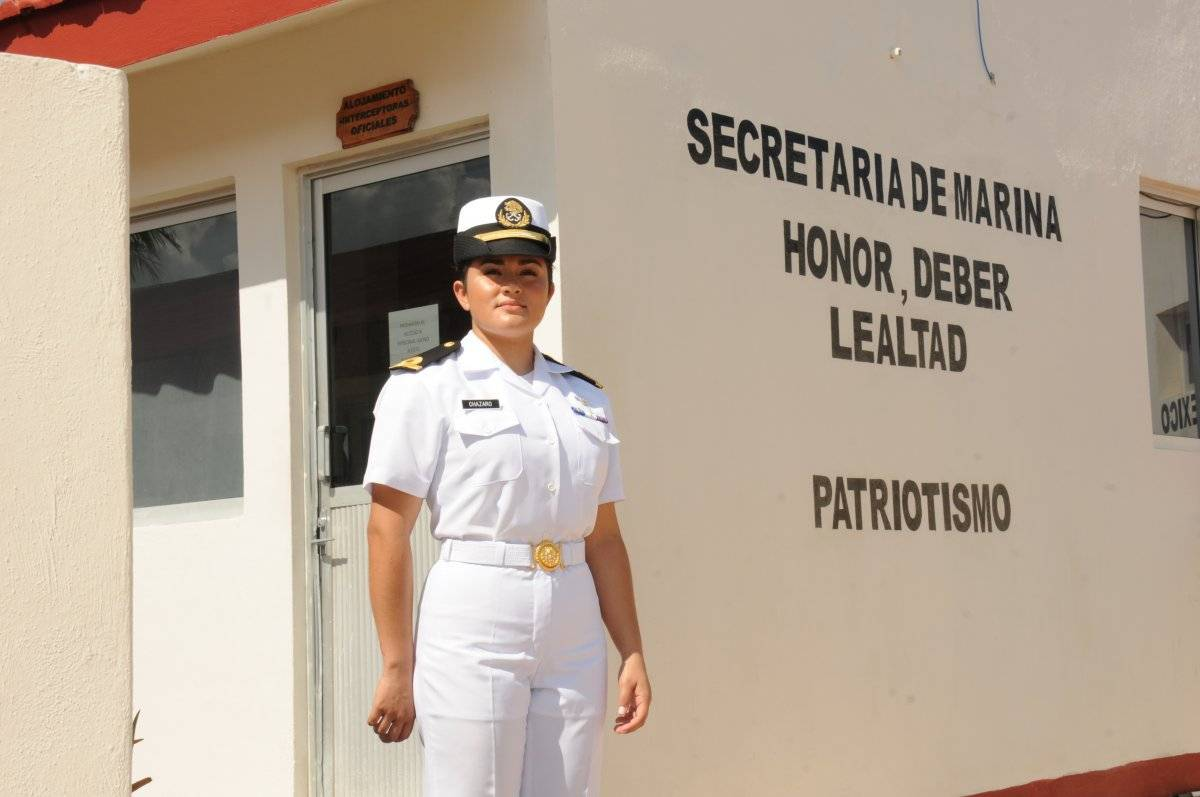 Las mujeres pueden llegar a ser secretarias de Marina, señala. Cortesía.