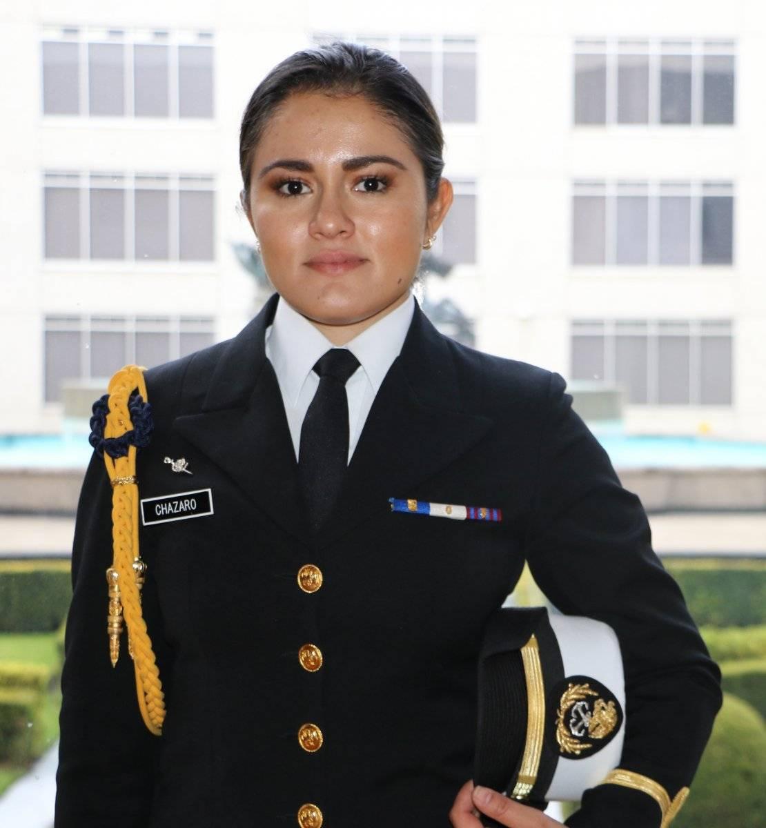 La Teniente cuenta con 24 años de edad. Eduardo Mondragón/Publimetro