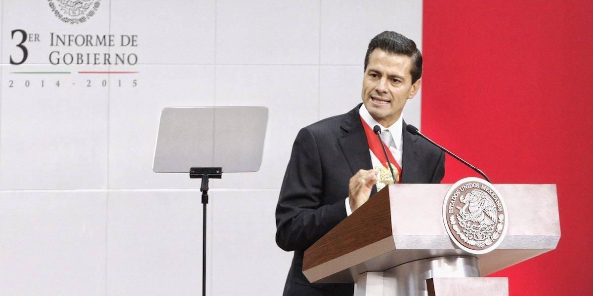 Así fueron los Informes de Gobierno de Enrique Peña Nieto