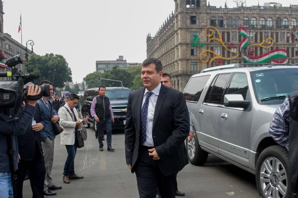 José Ramón Amieva, jefe de gobierno de la CDMX Foto: Cuartoscuro
