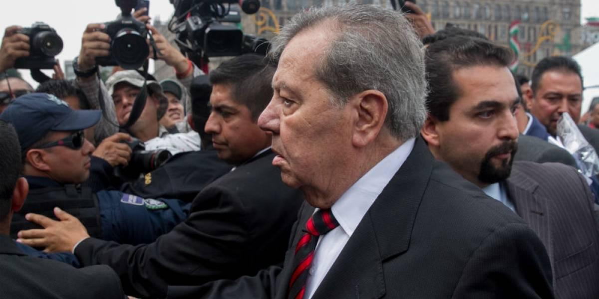 Diputados envían pésame a Muñoz Ledo por muerte de su hermano