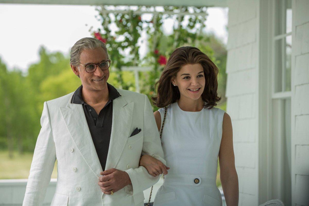La actriz de 39 años representará a la primera dama Jackie Kennedy Cortesía