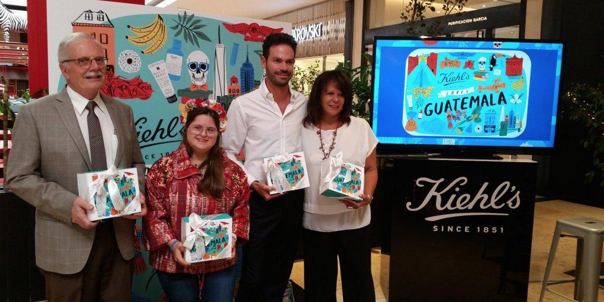 Kiehl's presenta una colorida campaña que le rinde tributo a Guatemala