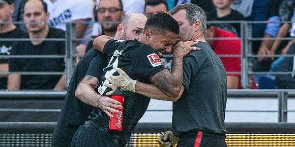 Carlos Salcedo será operado del tobillo izquierdo