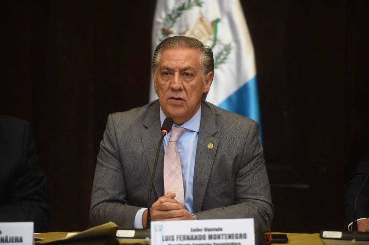 Luis Fernando Montenegro fue electo diputado con Encuentro por Guatemala. Foto: Edwin Bercián